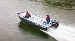 2012 - Crestliner Boats - Sportsman 16 SS Tiller