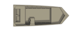 2013 - Crestliner Boats - 1650 Retriever Jon