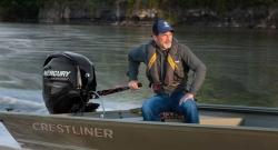 2013 - Crestliner Boats - 1650 Retriever Jons Deluxe