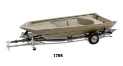 2014 - Crestliner Boats - 1860 Retriever Jon Deluxe