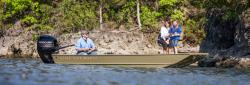 2015 - Crestliner Boats - 1650 Retriever Jons Deluxe