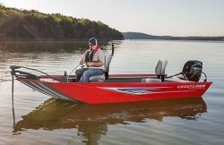 2016 - Crestliner Boats - 1657 Outlook