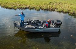 2020 - Crestliner Boats - 1650 Fish Hawk SC