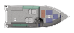 2021 - Crestliner Boats - 1800 Kodiak SC