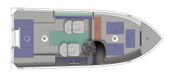 2021 - Crestliner Boats - 1450 Discovery SC