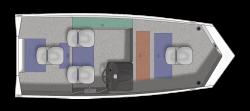 2021 - Crestliner Boats - 1700 Storm