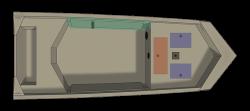 2021 - Crestliner Boats - 1860 Retriever Jon Deluxe