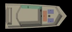 2021 - Crestliner Boats - 1760 Retriver Jon Deluxe