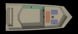 2021 - Crestliner Boats - 1660 Retriever Jon Deluxe