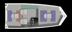 2021 - Crestliner Boats - 1700 Ridge
