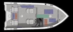 2021 - Crestliner Boats - 1750 Fish Hawk SC JS