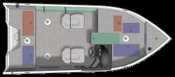 2021 - Crestliner Boats - 1650 Fish Hawk SC