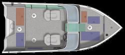 2021 - Crestliner Boats - 1650 Fish Hawk WT
