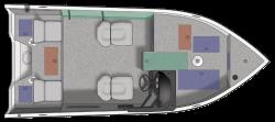 2021 - Crestliner Boats - 1650 Fish Hawk SC JS