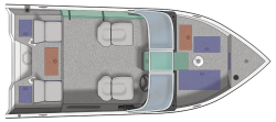 2021 - Crestliner Boats - 1650 Fish Hawk WT JS