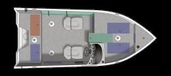 2021 - Crestliner Boats - 1650 Fish Hawk SE SC