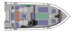 2021 - Crestliner Boats - 1750 Bass Hawk