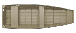 2021 - Crestliner Boats - 1436L CR Jon