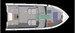 2021 - Crestliner Boats - 1750 Super Hawk WT JS