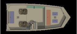 2021 - Crestliner Boats - 1660 Retriever SC
