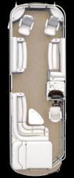 Crestliner Boats 2885 LSi IO Pontoon Boat