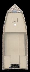 Crestliner Boats C 1655 V Utility Boat