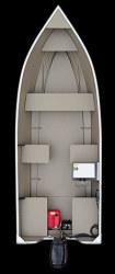Crestliner Boats Sportsman 18 SS Utility Boat