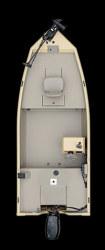 Crestliner Boats CXJ1655 Multi-Species Fishing Boat