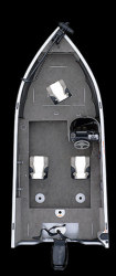 Crestliner Boats Fish Hawk 1600 SC Multi-Species Fishing Boat