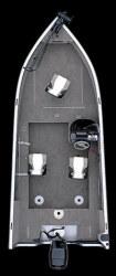 Crestliner Boats 1700 Fish Hawk SC Multi-Species Fishing Boat