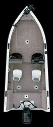 Crestliner Boats Fish Hawk 1750 SC Multi-Species Fishing Boat