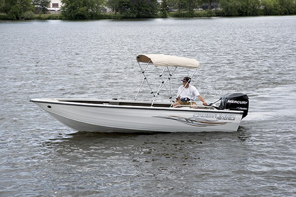 Research Crestliner Boats Fish Hawk 1750 Sc Wt On Iboats Com