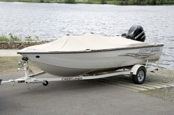Crestliner Boats-Fish Hawk 1600 Tiller