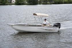 Crestliner Boats-Fish Hawk 1750 SC  WT