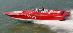 2012 - Donzi Marine - 35 ZR Open