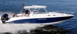 Donzi Marine 38 ZSF Walkaround Boat