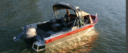 Duckworth Boats 19 Advantage Outboard Fish and Ski Boat