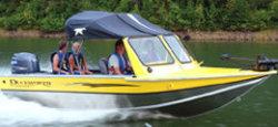 Duckworth Boats 195 Navigator Sport Fish and Ski Boat