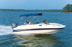 2015 - Ebbtide Boats - 2100 SS FC OB