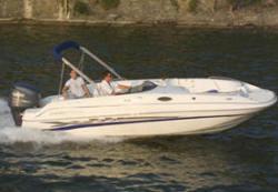 Ebbtide Boats 2100 Fun Cruiser OB Deck Boat