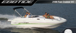 Ebbtide Boats 2100 Fun Cruiser SC Deck Boat