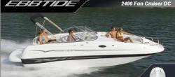 Ebbtide Boats 2400 Fun Cruiser DC Deck Boat