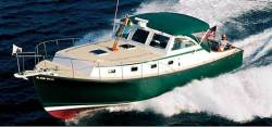 2012 - Ellis Boats - Ellis 36 Express Cruiser Aft Windshield