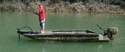 2012 - Excel Boats - 1544VF4 Viper Tiller
