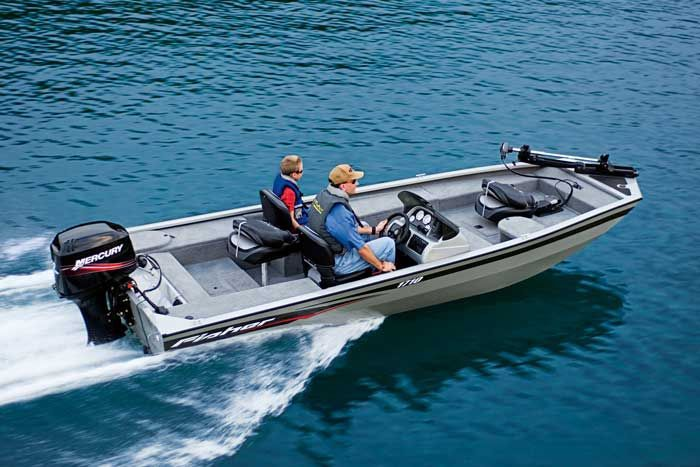 Research 209 fisher boats 1710 on for 4 person fishing boat