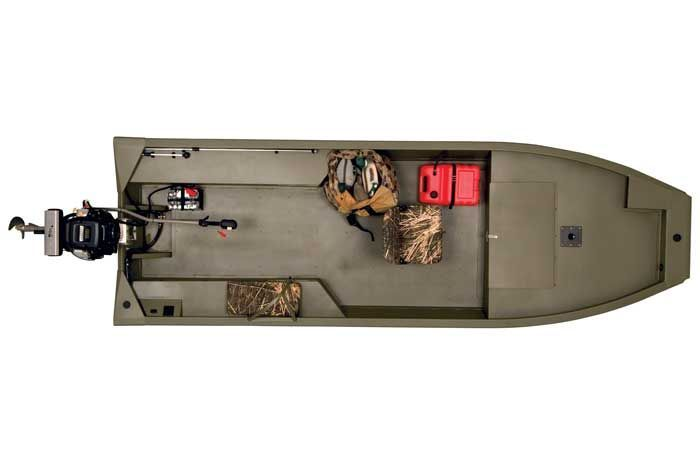 Research 2009 Fisher Boats Marsh Hunter 1648 On