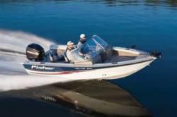 Fisher Boats Hawk 170 WT Dual Console Boat