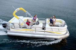 Fisher Boats Freedom 220 DLX Pontoon Boat