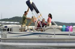 Fisher Boats Freedom 240 DLX Pontoon Boat
