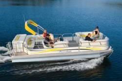 Fisher Boats Freedom 241 DLX Pontoon Boat